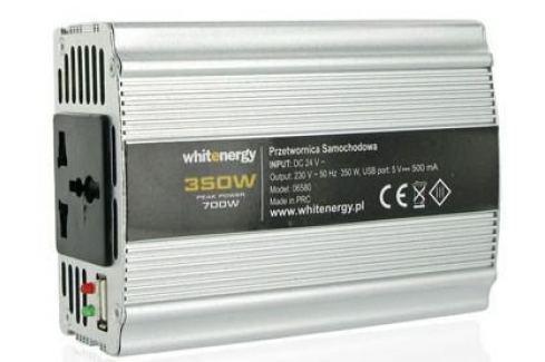 Dárek OEM WE Měnič napětí DC/AC 12V / 230V, 400W, USB (06581) Adaptéry
