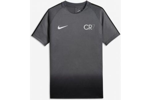 Dárek Nike CR7 Y NK DRY SQD TOP SS GX XS Běžecká, fitness trička