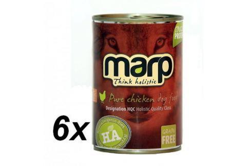Dárek Marp holistic - Pure chicken 6 x 400g Konzervy pro psy