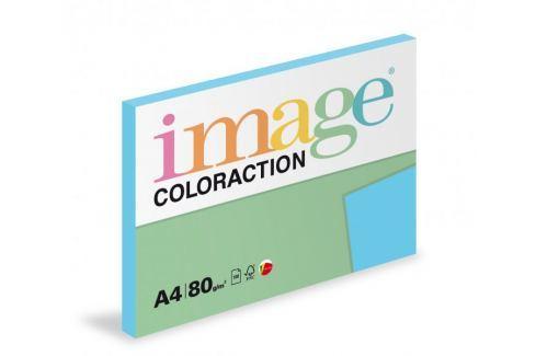 Dárek Papír kopírovací Coloraction A4 80 g modrá sytá 100 listů Kopírovací barevný