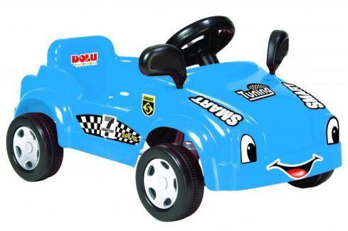 Dárek DOLU Velké šlapací auto s klaksonem, modré Šlapací vozítka