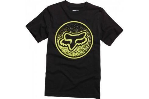 Dárek FOX chlapecké tričko Narka Ss Tee 140 černá Produkty