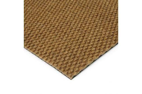 Dárek FLOMAT Béžová kobercová zátěžová vnitřní čistící zóna Fiona - 200 x 100 x 1,1 cm Vstupní čistící rohože