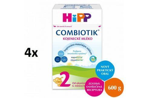 Dárek HiPP 2 BIO Combiotic - 4x600g Dětská mléka