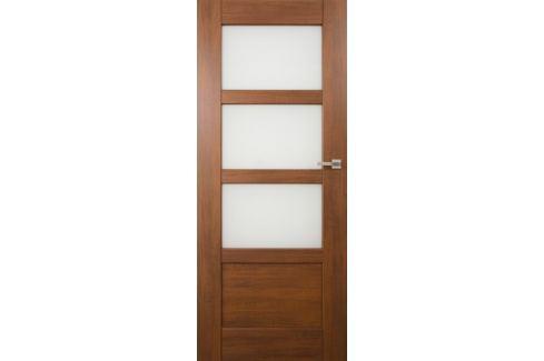 Dárek VASCO DOORS Interiérové dveře PORTO kombinované, model 4, Ořech, A Produkty