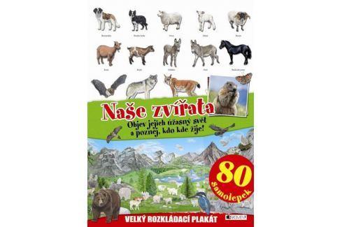 Dárek Naše zvířata - velký rozkládací plakát, Naučná literatura do 10 let