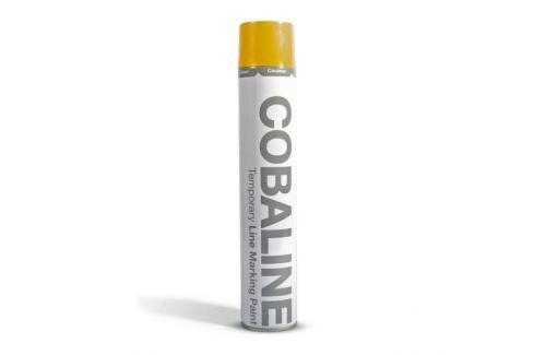 Dárek Žlutá krátkodobá rychleschnoucí aerosolová barva - 750 ml Podlahy, podlahoviny