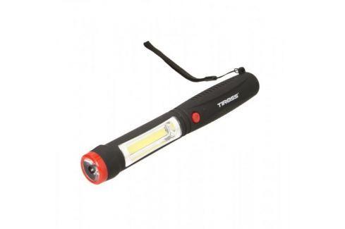 Dárek TIROSS Svítilna 1W LED, 2W COB LED, zabudovaný magnet, 4x AAA Dílenské svítilny
