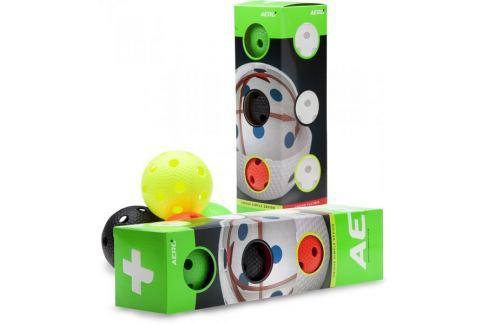 Dárek Salming Aero Plus Ball 4-pack, colour mix Florbalové doplňky