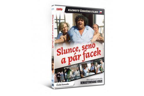 Dárek Slunce, seno a pár facek   - edice KLENOTY ČESKÉHO FILMU (remasterovaná verze) - DVD Komedie