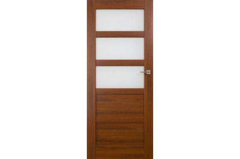 Dárek VASCO DOORS Interiérové dveře BRAGA kombinované, model 4, Dub riviera, A Produkty