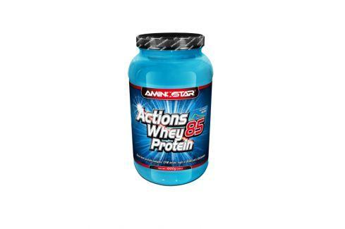 Dárek Aminostar Whey Protein Actions 85%,1000g citron-jogurt Po tréninku