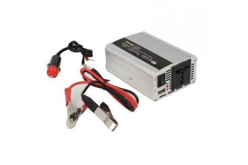 Dárek WHITENERGY Měnič napětí do auta 12/230 V, 350 W s USB Měniče napětí