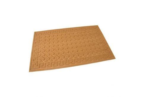 Dárek FLOMAT Hnědá textilní vstupní rohož Bricks - Deco - 75 x 45 x 1 cm Vstupní čistící rohože