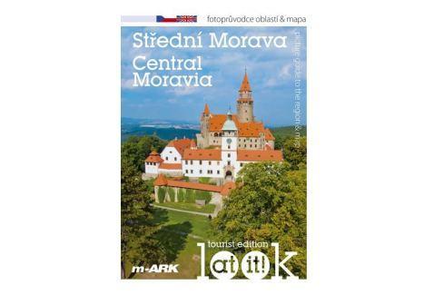 Dárek Marek Ivan: Střední Morava - Turistický fotoprůvodce oblastí + mapa (ČJ, AJ) Mapy, cestování