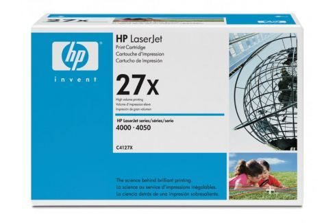 Dárek HP toner č. 27X černý (C4127X) Spotřební materiál