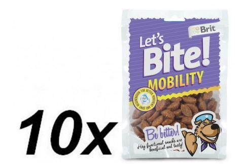 Dárek Brit Lets Bite Mobility 10x150 g Pamlsky