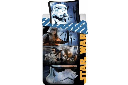 Dárek Jerry Fabrics bavlna povlečení Star Wars Stormtroopers 140x200 70x90 Povlečení