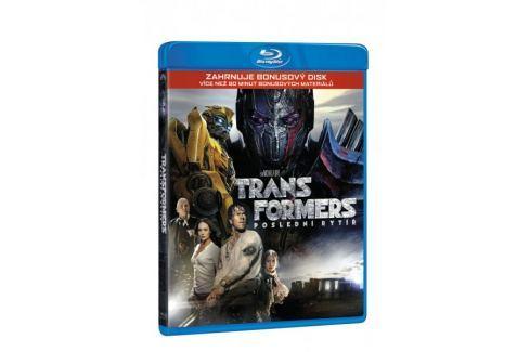 Dárek Transformers: Poslední rytíř (BD+bonus disk)   - Blu-ray Akční