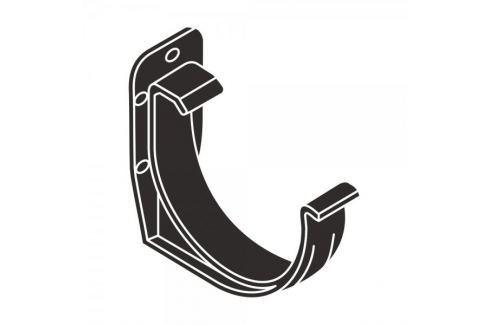 Dárek LanitPlast PVC hák RG 125 půlkulatý antracitová barva Žlaby