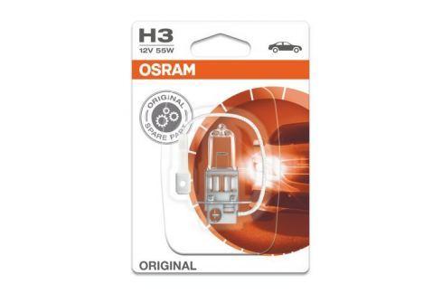 Dárek Osram 12V H3 55W PK22s 1ks Blister Autožárovky