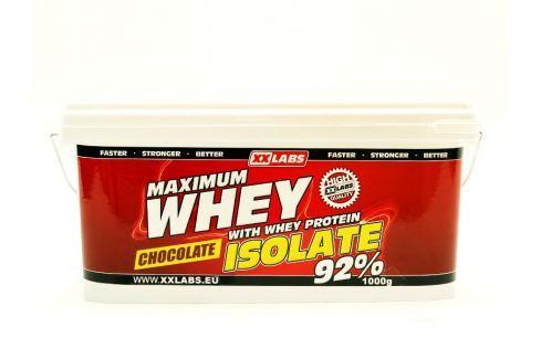 Dárek XXlabs Maximum Whey Protein Isolate 92, 2200 g Čokoláda Po tréninku