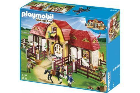 Dárek Playmobil 5221 Velká koňská farma s výběhem Playmobil
