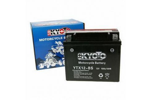 Dárek Baterie KYOTO 12V 10Ah  YTX12-BS  (kysel. náplň součástí balení) Baterie, nabíječky pro motorku