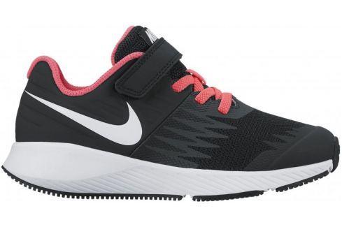Dárek Nike Star Runner Psv Pre-School Shoe Black White-Volt-Racer Pink 29,5 Obuv
