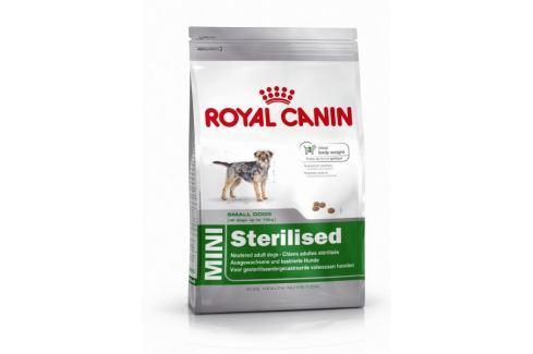 Dárek Royal Canin Mini Sterilised 8kg Granule pro psy