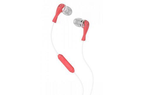 Dárek Skullcandy Wink'd 2.0 s mikrofonem, bílá/růžová Sluchátka s mikrofonem