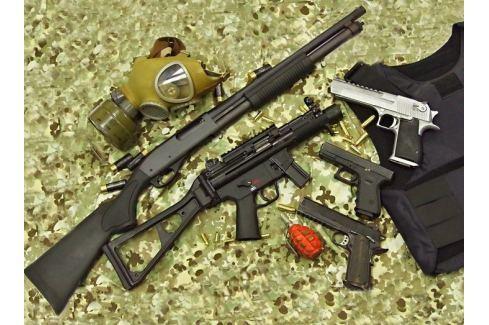 Dárek Poukaz Allegria - střelecký kurz Comando Adrenalin