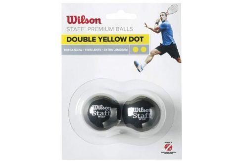 Dárek Wilson Staff Squash 2 Ball Double Yellow Dot (2 tečky) Squashové míčky