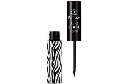 Dárek Dermacol Tekuté oční linky (Ultra Black Dipliner) 2,8 ml (Odstín Black) Oční linky