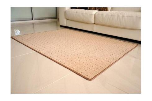 Dárek Kusový koberec Udinese béžový 80x150 cm Kusové