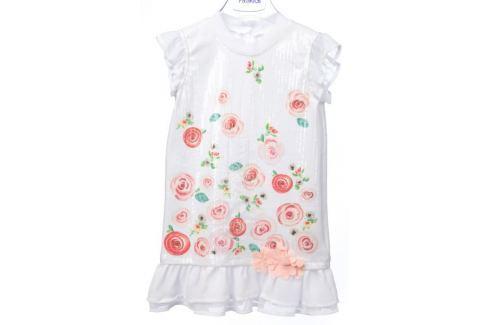 Dárek Primigi dívčí šaty 104 bílá Produkty