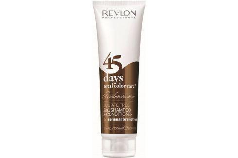 Dárek Revlon Professional Šampon a kondicionér pro smyslné hnědé odstíny 45 days total color care (Shampoo&Conditioner Sensual Kondicionéry, balzámy na vlasy