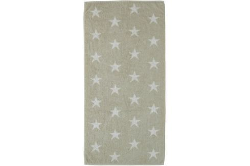 Dárek Cawö Frottier Small Stars osuška 70 x 140 cm písková Osušky, ručníky