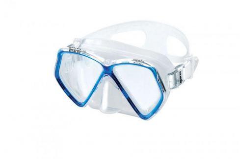 Dárek Mares Maska dětská PIRATE, transparentní/modrá Potápěčské brýle, masky
