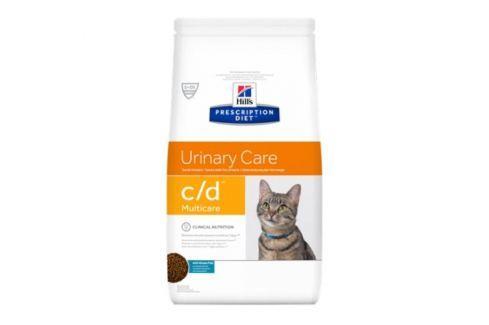 Dárek Hill's PD Feline C/D Multicare Ocean Fish 5 kg Veterinární diety