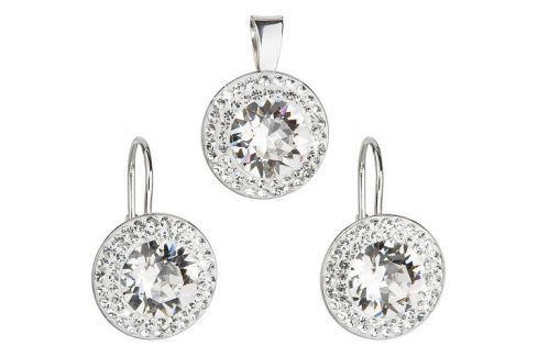 Dárek Evolution Group Sada á la Kate Middleton 39107.1 krystal stříbro 925/1000 Soupravy šperků