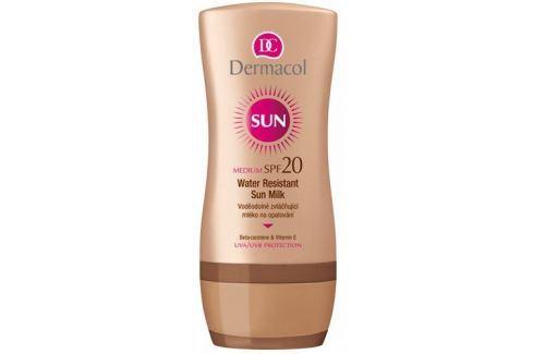Dárek Dermacol Voděodolné zvláčňující mléko na opalování SPF 20 Sun (Water Resistant Sun Milk) 200 ml Krémy na opalování