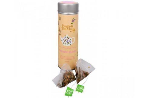 Dárek English Tea Shop Čaj Zklidňující směs - plechovka s 15 bioodbouratelnými pyramidkami Dárková balení čajů