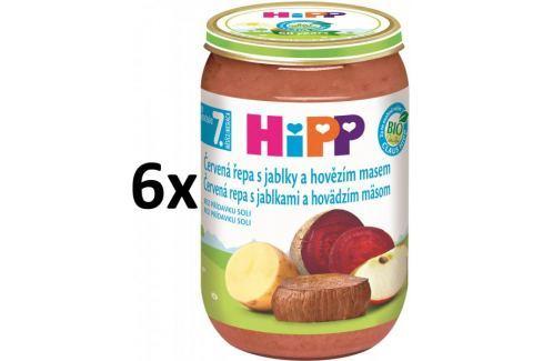 Dárek HiPP BIO Červená řepa s jablky a hovězím - 6x220g Příkrmy kojenců