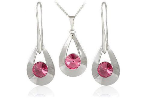 Dárek MHM Souprava šperků Karen 2 Light Rose 34235 stříbro 925/1000 Soupravy šperků