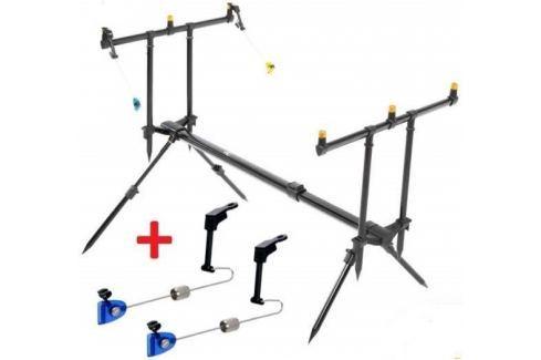 Dárek ZFISH Rod Pod Classic 3 Rods + 2x Swinger Extra Carp ZDARMA! Stojany