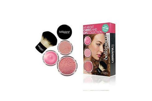 Dárek Bellapierre Kosmetická sada na tvář a rty (All About Cheeks And Lips Kit) (Odstín Coral Collection) Pudry