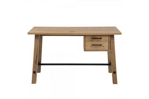 Dárek Design Scandinavia Pracovní stůl se zásuvkami Kiruna, 130 cm Kancelářské stoly