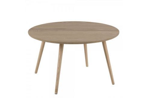 Dárek Design Scandinavia Konferenční stolek kulatý Stanfield, 80 cm, jasan Konferenční stoly