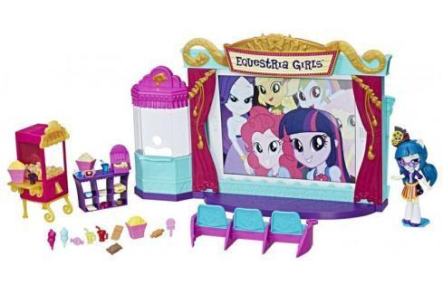 Dárek My Little Pony Tematický hrací set - kino Panenky